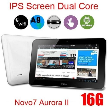 Ainol Novo7 Aurora II use the latest Dual Core Cortex-A9 Amlogic8726-M6 1.5GHz and Dual Core GPU Tablet Pc | 10 inch Android 4.0 zenithink C91 Cortex A9 1GHz 8GB 1G RAM Capacitive screen china cheap Tablet PC | Scoop.it