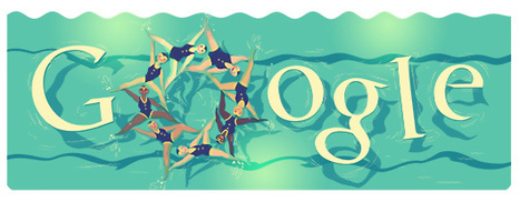 Londra 2012, Google dedica il doodle al Nuoto Sincronizzato | InTime - Social Media Magazine | Scoop.it