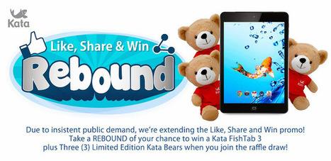 Promo Alert: LIKE, SHARE and WIN KATA FishTab 3 Tablet « TechConnectPH   MyNewscoop   Scoop.it