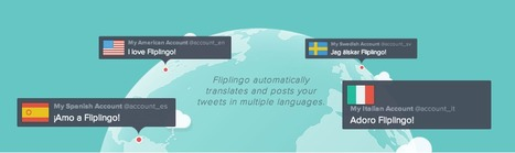 Translate Your Tweets Into Any Language with Fliplingo | Social Media SuperChargers | Scoop.it