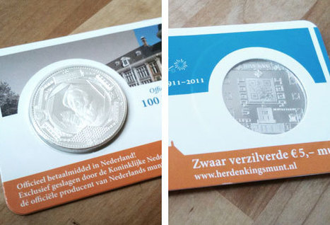 The Air Source » Blog Archive » Scanning the Royal Dutch Mint's new QR Code coin – what's behind that code | QR-Code and its applications | Scoop.it