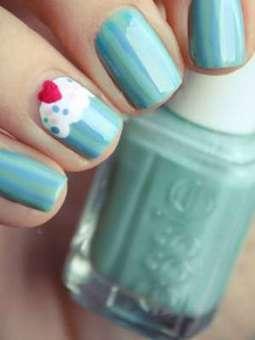 Se ponen de moda las uñas Cupcake | Decoración uñas | Scoop.it