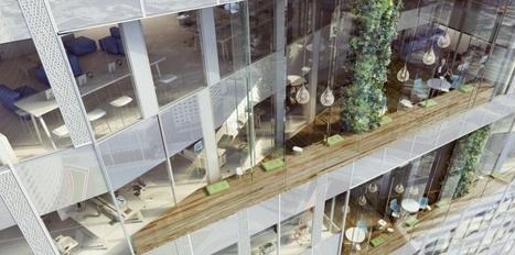 Aimeriez-vous travailler dans une tour avec terrasse à chaque étage? | Le Management et la qualité de vie au bureau | Scoop.it