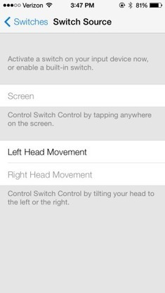 New Accessibility Options in iOS 7 Allow iPad or iPhone to be Controlled with Head Movements | UX & Human Factors | Scoop.it