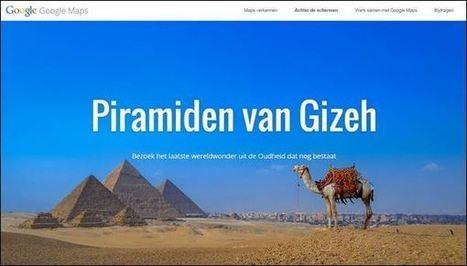 Leuk voor een geschiedenisles over het oude Egypte: Bezoek de piramiden van Gizeh met Google Street View « Vanaf de Zijlijn... | Ict in het Primair Onderwijs | Scoop.it