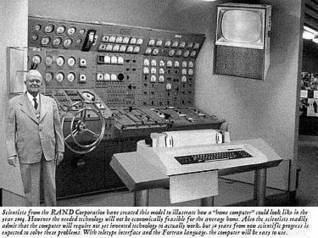 1954 'Home Computer of the Future' - Urban Legends   Visual Culture in the Digital Age   Scoop.it