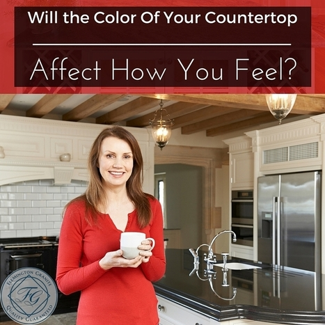 Will the Color Of Your Countertop Affect How You Feel? - Flemington Granite | Home Improvement, Modular Construction, Modular Buildings, Prefabricated Building | Scoop.it