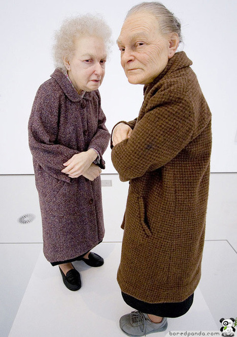 13 Hyper-realistic Sculptures by Ron Mueck | Bored Panda | Socialart | Scoop.it