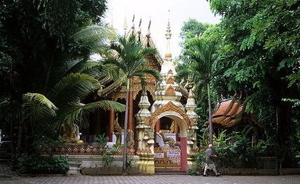 Wat Ku Tao : water melon chedi | Chiang Mai Tourist Attractions | Scoop.it