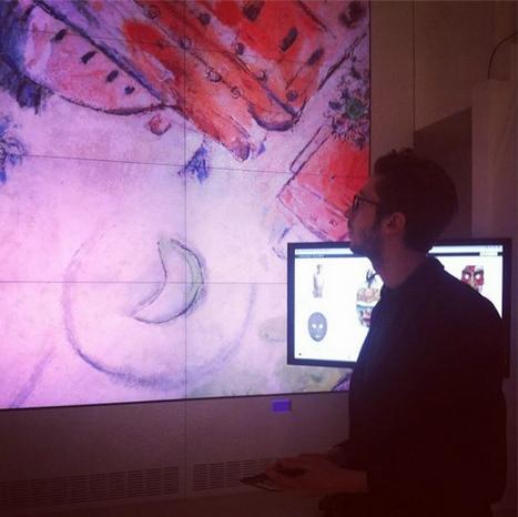 Au Lab de l'Institut culturel Google, à Paris, 25 ingénieurs travaillent à renouveler l'expérience de l'art. | Nouvelles Technologies et Culture | Scoop.it