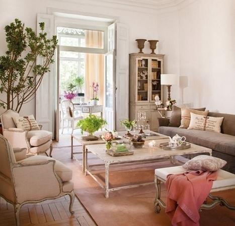 A romantic interior by Isabel Flores | Décorations en tous genres | Scoop.it