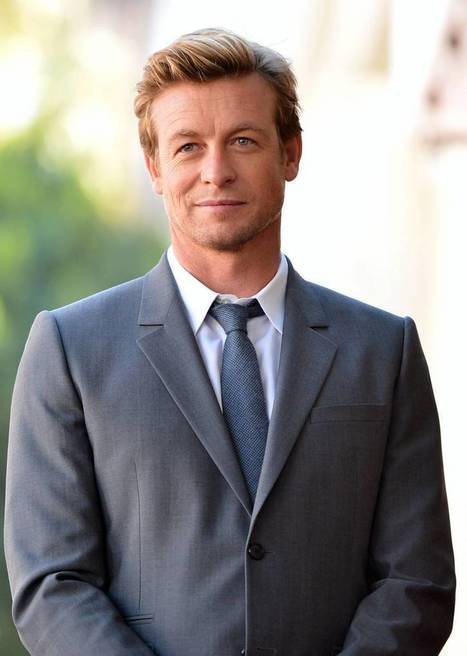 The Mentalist's Simon Baker Got Himself a Givenchy Contract | Gabby's Gab | Scoop.it
