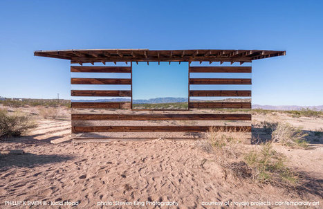 A Transparent Cabin of Wood and Mirrors on a Desert Landscape | Visual Culture and Communication | Scoop.it