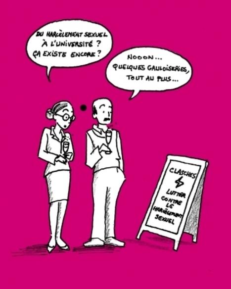 Harcèlement sexuel dans l'enseignement supérieur : comment réagir ? | Enseignement Supérieur et Recherche en France | Scoop.it