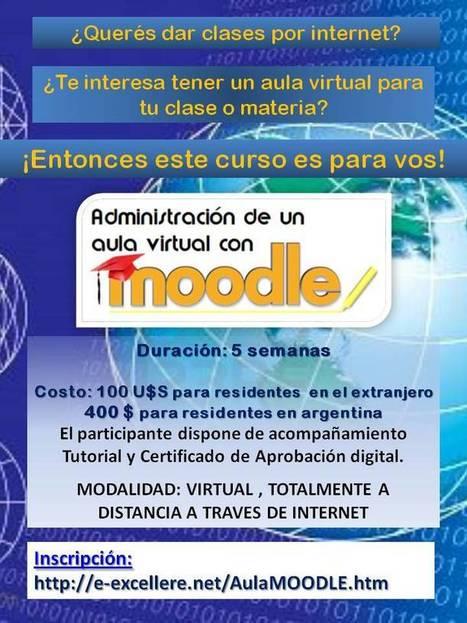 Curso: Administración de un Aula Virtual con MOODLE. Inicia el 4 de junio. - Congreso TIC | Activismo en la RED | Scoop.it