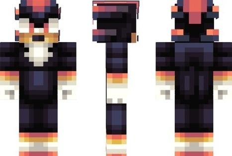 PixeledMe Minecraft | Shadow Minecraft Skin | Sonic | Scoop.it