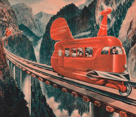 The Wondrous, slightly Creepy World of Japanese Retro Futurism ... | The Future | Scoop.it