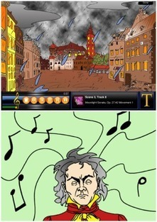 FREE App: Classical Kids - Beethoven Lives Upstairs | iGameMom | Pane, amore e musica | Scoop.it
