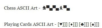 ASCII Art One Liner : Make Interesting Ascii Art Pictures In One Line | ASCII Art | Scoop.it