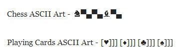ASCII Art One Liner : Make Interesting Ascii Art Pictures In One Line | ASCII Art | Scoop.it