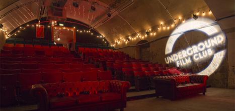 Une salle de cinéma voit le jour sous une station de métro à Londres   Cadre(s) de vie - Mode(s) de vie   Scoop.it