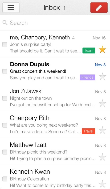 Official Gmail Blog: The Gmail app for iPhone and iPad: version 2.0 | Mobilt | Scoop.it