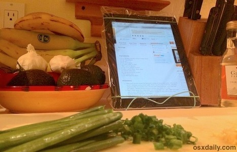 Protect an iPad While Cooking By Keeping it Safe in a Plastic Bag | Professional Learning for Busy Educators | Scoop.it