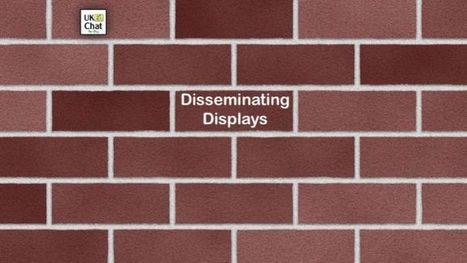 Disseminating Displays by @mrnickhart – UKEdChat.com | ICTmagic | Scoop.it