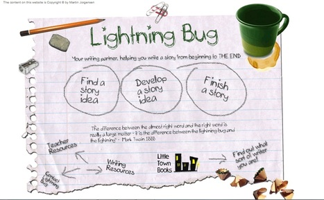 Lightning Bug - resources to help students to develop their writing skills | teaching and learning in the 21st century | Scoop.it