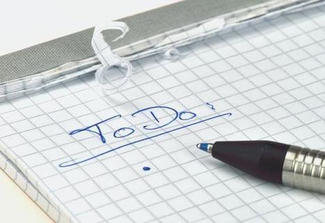 10 trucos para planificar la lista de tareas para gente extremadamente ocupada | Eureka-Startups | Evaluación | Scoop.it