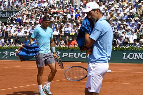 Rafael Nadal triumphs against Novak Djokovic to win ninth French ... | tennis grand slam | Scoop.it