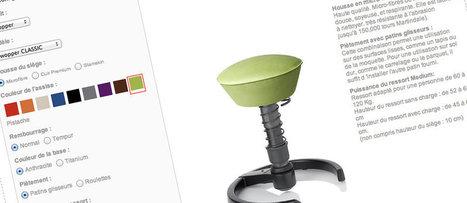 Et si vous assembliez la chaise dynamique de vos rêves ? | Tabouret ergonomique Muvman | Scoop.it