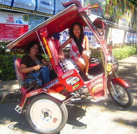 Travel Maria: Pagadian's Uniquely Designed Tricycles that Incline 25-40° Angle! | Philippine Travel | Scoop.it