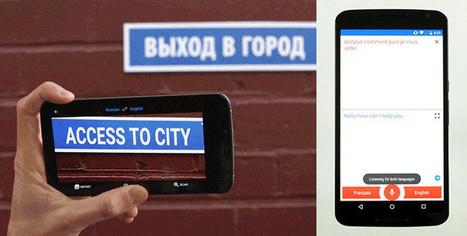 Google Translate quiere ser tus ojos y oídos en cualquier idioma | iPad classroom | Scoop.it