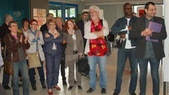 Les élèves de Nuances exposent jusqu'à fin mai | FredHugon.fr | Scoop.it