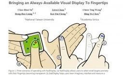 Taïwan : Un prototype propose un petit écran monté sur un ongle   eCommerce-Corner   E-commerce Corner   Scoop.it