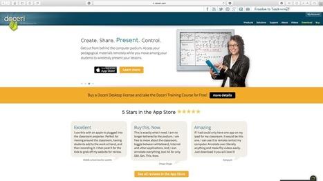 Doceri: una interesante app para flipped learning – frenéTICo | Educació de Qualitat i TICs | Scoop.it