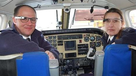 Pilot School Adventia, first in the world to fly with Google Glass - Droiders | Digital | Scoop.it