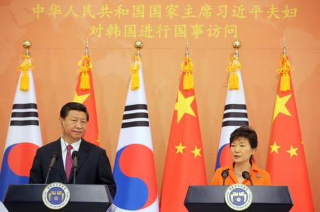 Park-Xi summit draws regional powers' attention | Asia-Pacific developments | Scoop.it