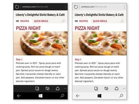 Voilà à quoi ressemblera Spartan sur les téléphones sous Windows 10 | Technologies & web - Trouvez votre formation sur www.nextformation.com | Scoop.it