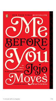 School Librarian in Action: Book Review: Me Before You | The Reading Librarian | Scoop.it