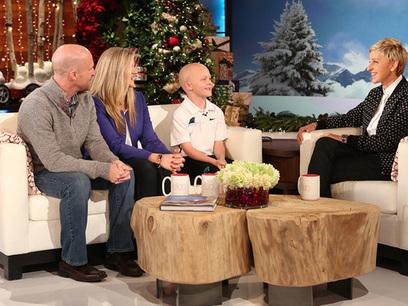 Ellen Surprises Family of NC Boy Battling a Brain Tumor | Brain Tumors | Scoop.it