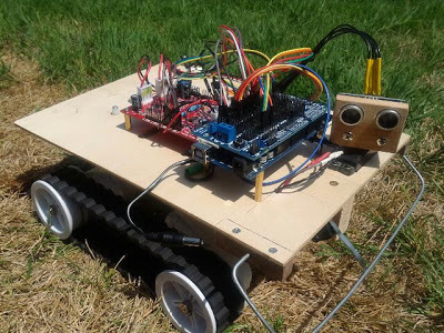 Pi Hard, with a vengeance! : Robot Rover 5 with Arduino Mega2560 | Arduino&Raspberry Pi Projects | Scoop.it