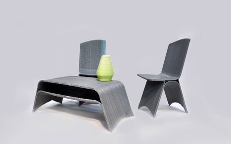 French Company, Drawn, is Now 3D Printing Entire Furniture Pieces.. And They ... - 3DPrint.com | tecnologia s sustentabilidade | Scoop.it
