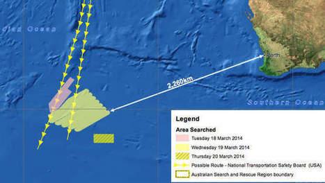 Vliegtuigen zoeken morgen verder naar 'sporen' MH370 - HLN.be   Vliegende tuigen   Scoop.it