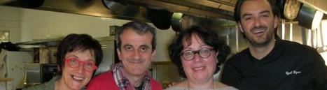 Le chef Cyril Lignac aux fourneaux des sœurs Fagegaltier | L'info tourisme en Aveyron | Scoop.it