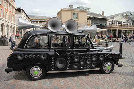 Sound Taxi tours London translating city noise into live music | sound mostly | Scoop.it