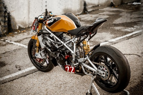 Ducati 1198 Matador Racer | Ducati | Scoop.it