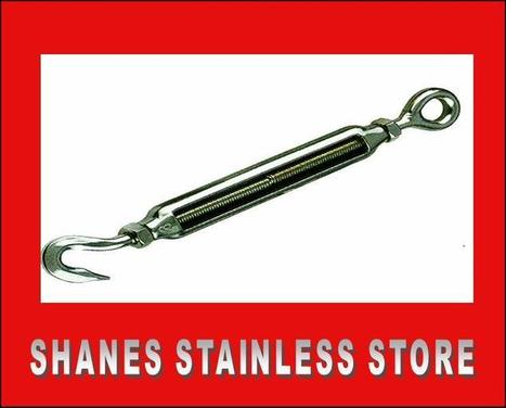 GET TURNBUCKLE AT SHANE'S STAINLESS STEEL STORE | Stainless steel hardware | Scoop.it