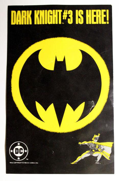 Batman: The Dark Knight Returns #3 Promo Sheet (Frank Miller, Batman) | Comics | Scoop.it